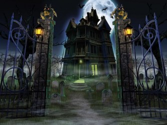 haunted-house-screen-saver